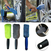 Microfiber Car Wheel Brush Rim Tire Detailing Automotive Care Motorcycles Brushs