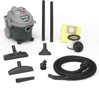 Shop Vac 4 Gallon All Around Wet Dry Vacuum 4.5 Peak Horsepower Dual Filtration