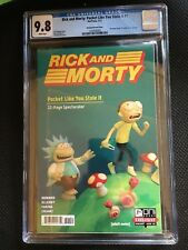 Rick and Morty Pocket Like You Stole It #1 Gen Con Nintendo Power Homage CGC 9.8