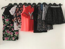 GIRLS AGE 8-9 YEARS SUMMER CLOTHES BUNDLE PLAYSUIT TOPS SKIRT SHORTS NEXT M&S TU
