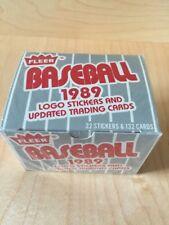 1989 Fleer Baseball Update Set
