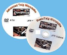 Basic and Advanced Taig Micro Lathe Operations (2 DVD Set)