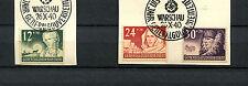 Gen. Gouvernement Nr. 56 - 58   Sonderstempel Warschau  (DÖ15)