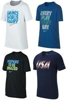 New Nike Boys' Graphic Print Shirt Choose Size and Color