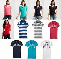 U-PICK Womens AERO Aeropostale Polo Shirts Top Tee XS,S,M,L,XL,2XL NEW! NWT!