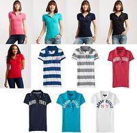 U-PICK Womens AERO Aeropostale Polo Shirts Top Tee XS,S,M,L,XL,2XL NEW! NWT!