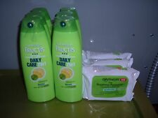 6 Garnier 2n1 Daily Care Shampoo Soothing Remover Cleansing Towelettes Sensitive