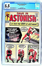 Tales to Astonish # 43 CGC 5.5