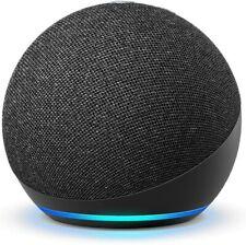 Amazon Echo 4 -го поколения премиум звуком умный дом концентратор Алекса угольно-черный