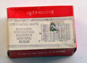Redfield SR 70-A Scope Mount Base #512415 Winchester 70