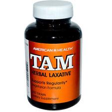 American Health - TAM Herbal Laxative Vegetarian Formula - 250 Tablets
