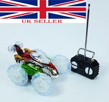 New Radio Control Turbo 360° Twister Stunt Car Vehicle Flashing Lights Toy UK