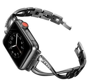 Diamond Bracelet Band for Apple Watch Strap Series SE 6 5 4 3 2 1 38 40 42 44 mm