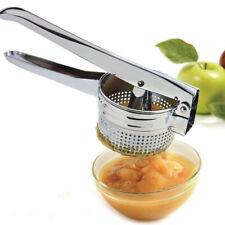 Potato Ricer Masher Stainless Steel Fruit Vegetable Masher Heavy Duty Food Press