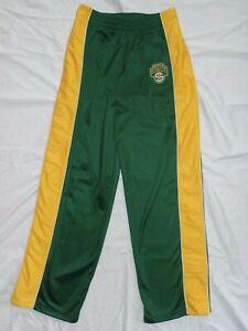 Seattle Supersonics Warm Up Pants Size Medium 12-14 Button Up Sonics Vintage NBA
