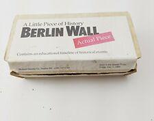 Berlin Wall, Own a Piece of History, w/COA