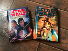 Star Wars Hardcover Lot: Darksaber, K. Anderson/ Approaching Storm, A.D. Foster
