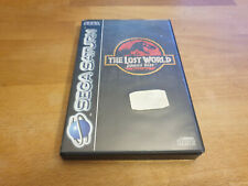 The Lost World Sega Saturn OVP komplett CIB
