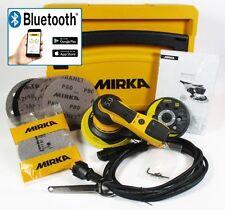 MIRKA DEROS Elektro Exzenterschleifer 125 & 150mm 5mm Hub im Systainer