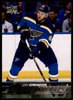 2015-16 Upper Deck Joel Edmundson RC #207