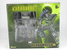 Transformers Warbotron WB01B Heavy Noisy (Brawl) Complete Bruticus