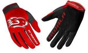 Kwala Gloves Tactix 2.0 RED Motocross MTB BMX Gloves NEW