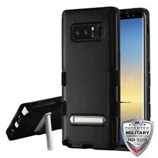 Samsung Galaxy Note 8 Shockproof Impact Resistance Cover Case w/ Stand - Black
