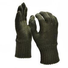 Genuine Belgian army military gloves Liners wool warmers Military Surplus