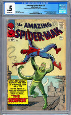 AMAZING SPIDER-MAN #20 CGC 0.5 *ORIGIN & 1ST SCORPION* STAN LEE STEVE DITKO 1965
