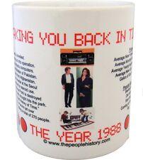 1988 Year In History Coffee Mug Includes Gift Box Born In 1988 Birthday Gift
