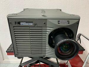 Christie Roadster S+16K Projector 3 Chip DLP 14000 Lumen HD SDI bundle w/Lens