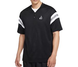 Giannis T Shirt Mens New Nike Dri FIT Loose Mesh Basketball Training Tee Black
