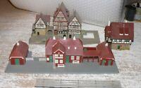 T5 Kibri Vollmer Auhagen o.a Ensemble Gebäude  Bahnhof Spur N