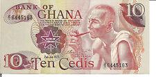 GHANA, 10  CEDIS, 1978, UNC