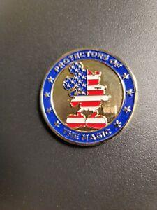 Disneyland Walt Disney World Security  Protector Of The Magic Challenge Coin #69