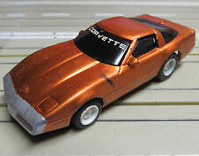 für H0 Slotcar Racing Modellbahn --  Corvette mit  Tyco Chassis