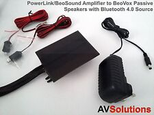 PowerLink/BeoVision Amplifier to B&O BeoVox/Passive Speakers with Bluetooth v4.0