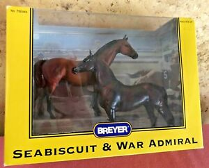 """Breyer Classic set #750333 """"Seabiscuit and War Admiral"""""""