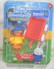 Miffy's Adventures Big & Small GRUNTY'S WAGON Play Figure *NEW*