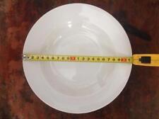 120 Suppenteller Pastateller Salatteller Porzellan Teller Weiß Neu  21,5 cm