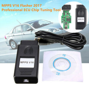 MPPS V16 Flasher Professional ECU Chip Tuning Tool Read/Write Memory Service Kit