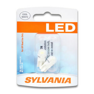 Sylvania SYLED License Light Bulb for Sterling 827 1989-1991  Pack uo
