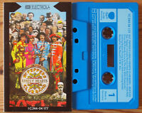 THE BEATLES - SGT PEPPERS... (APPLE/ELECTROLA 1C24404177) GERMAN CASSETTE TAPE