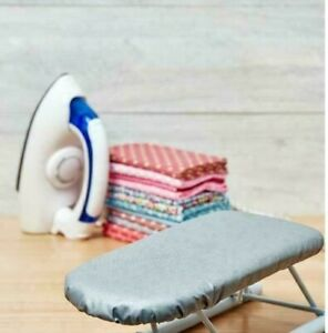 SEW EASY STEAM IRON 700W WITH NON-STICK SOLE PLATE FOLDABLE & PRESSING BOARD