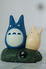 Nibariki Blue and White Totoro's mini figure/figurine Miyazaki Totoro Ghibli
