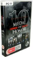 Medal of Honor 10th Anniversary Windows PC DVD ROM Complete WWII Shooter Game
