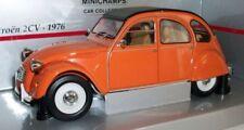 Véhicules miniatures orange pour Citroën 1:18