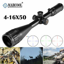 MARCOOL 4-16X50  AOIRGBL Rifle Scope Optical Aim Collimator Sight For Hunting