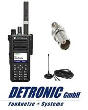Motorola DMR Dispositivo radioamatoriale dp4801e UHF 403-527mhz GPS-SMA con antenna MG