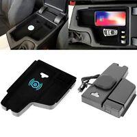 KFZ Wireless Car Charger Auto Ladegerät Halter Für BMW 3 Serie Samsung iPhone